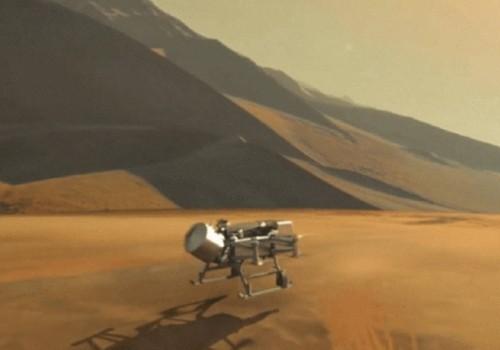 """La NASA diseña un dron para buscar """"la receta de…"""