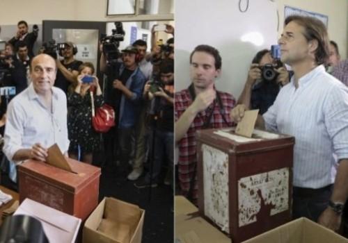 Intención de voto permanece incambiada: Lacalle 47%, Martínez 42%