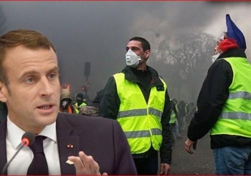 """Macron reconoce reclamos de los """"chalecos amarillos"""""""