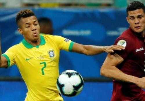 Brasil y Venezuela igualaron sin goles