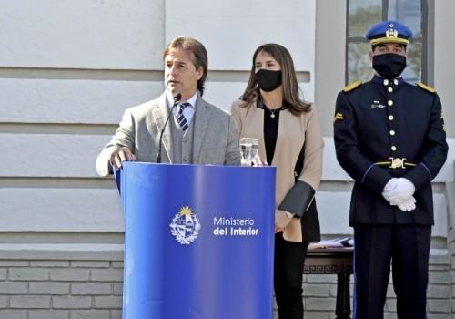 Presidente Lacalle Pou inauguró sede de la Dirección de Seguridad…