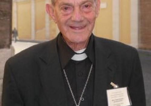 Falleció Monseñor Roberto Cáceres, Obispo Emérito de Melo