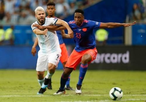 Colombia dio la sorpresa y derrotó a Argentina 2-0