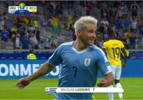 Partidazo de Uruguay: arrolló a Ecuador por 4 a 0