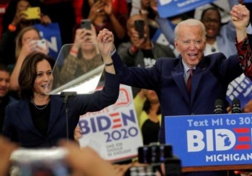 Kamala Harris es la compañera de fórmula de Joe Biden