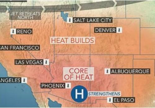 Altas temperaturas alcanzan los 46°C