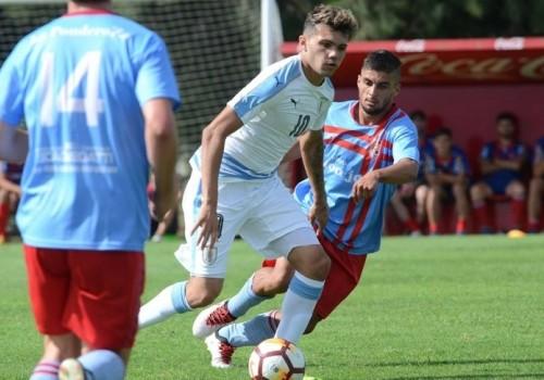 Uruguay Sub 20 venció a Plaza Colonia por 4 a 0