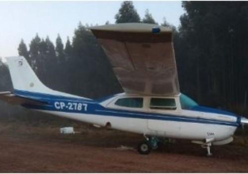 Dos detenidos por avioneta hallada en Paysandú