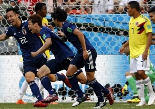Gran triunfo de Japón ante Colombia por 2 a 1