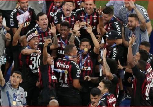 Atlético Paranaense es el campeón de la Sudamericana